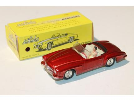 MERCEDES 190SL ROUGE SOLIDO 1/43°