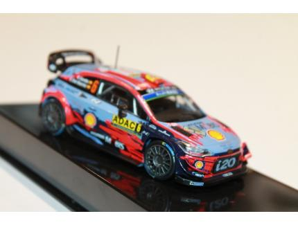 HYUNDAI I20 COUPE WRC N°6 RALLY ALLEMAGNE 2019 IXO 1/43°