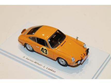 PORSCHE 911S N°43 RALLY MONTE CARLO 1967 SPARK 1/43°