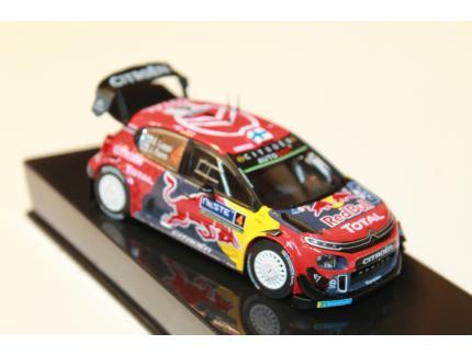 CITROEN C3 WRC N°04 RALLY FINLAND 2019 IXO 1/43