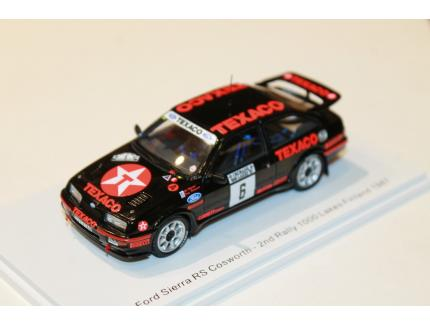 FORD SIERRA RS COSWORTH 2ND RALLY 1000 LAKES FINLAND 1987 SPARK 1/43°