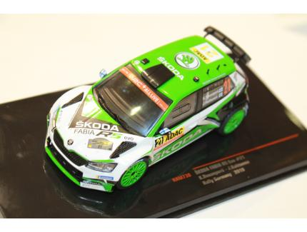 SKODA FABIA R5 EVO N°21 RALLY GERMANY 2019 IXO 1/43°
