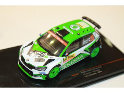 SKODA FABIA R5 EVO N°23 RALLY GERMANY 2019 IXO 1/43°