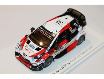 TOYOTA YARIS WRC N°33 WINNER RALLYE SUEDE 2020 SPARK 1/43°