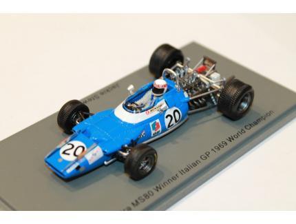 MATRA MS80 WINNER ITALIAN GP 1969 WORLD CHAMPION SPARK 1/43°