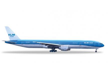 BOEING 777-300ER KLM ASIA HERPA 1/500°