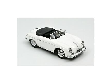 PORSCHE 356 SPEEDSTER 1954 BLANCHE NOREV 1/18°