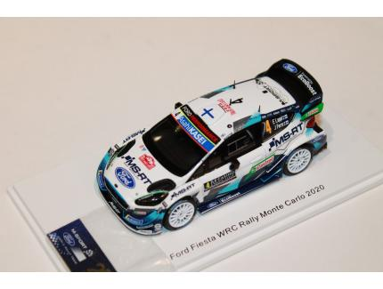 FORD FIESTA WRC MONTE CARLO 2020 N°4 SPARK 1/43°