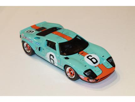 FORD GT40 MKI N°6 24LM 1969 SOLIDO 1/18°