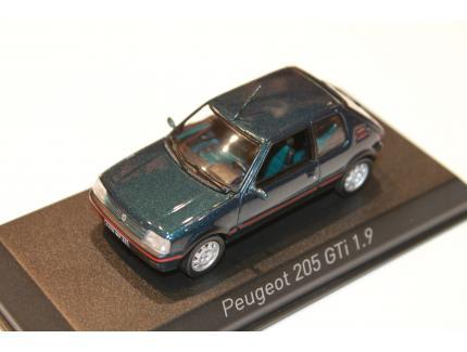 PEUGEOT 205 GTI 1.9 VERT 1992 NOREV 1/43°