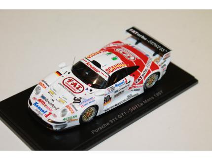 PORSCHE 911 GT1 24LM 1997 SPARK 1/43°