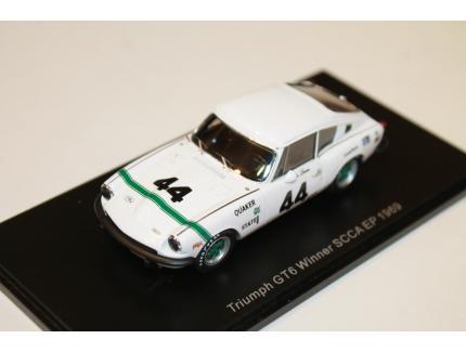 TRIUMPH GT6 WINNER SCCA EP 1969 SPARK 1/43°