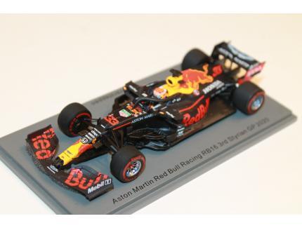 ASTON MARTIN RED BULL RACING RB16 N°33 3RD STYRIAN GP 2020 SPARK 1/43°