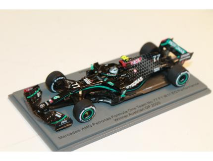 MERCEDES-AMG F1 W11 F1 BOTTAS WINNER AUSTRIAN GP 2020 SPARK 1/43°