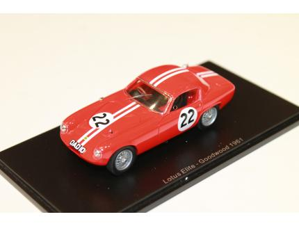 LOTUS ELITE N°22 GOODWOOD 1961 SPARK 1/43°