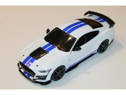FORD MUSTANG GT500 SHELBY 2020 BLANC SOLIDO 1/18°