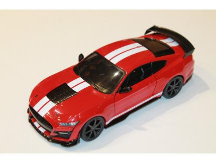 FORD MUSTANG GT500 SHELBY 2020 ROUGE SOLIDO 1/18°