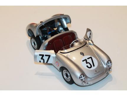 PORSCHE 550 SPYDER LE MANS 1955 N°37 SCHUCO 1/18°