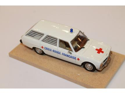 PEUGEOT 504 BREAK AMBULANCE LABEL 1/43°
