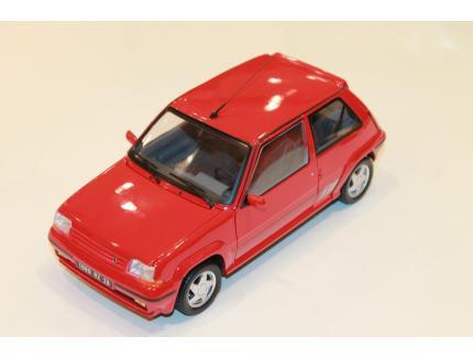 RENAULT SUPERCINQ  GT TURBO ROUGE 1989 NOREV 1/18