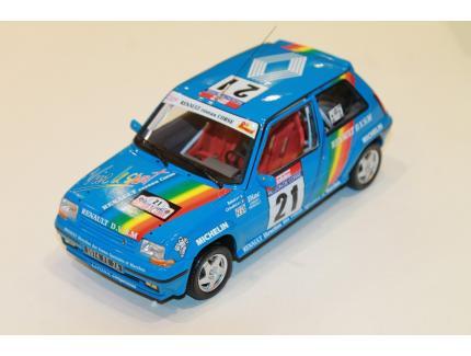 RENAULT SUPERCINQ GT TURBO N°21 TDC 1990 NOREV 1/18