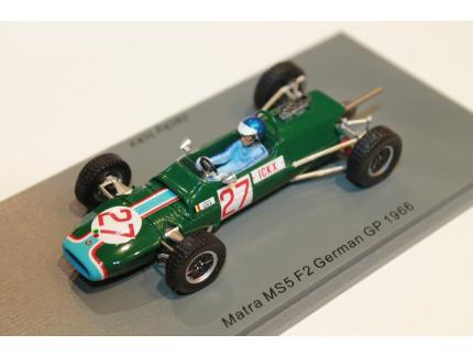 MATRA MS5 F2 GP ALLEMAGNE 1968 SPARK 1/43°