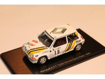 RENAULT 5 GT TURBO MC RALLY 1989 SPARK 1/43°