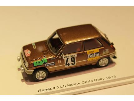 RENAULT 5 LS MONTE CARLO RALLY 1975 SPARK 1/43°