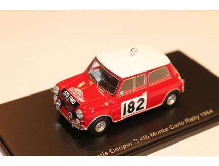 MINI MORRIS COOPER S N°182 MC 1964 SPARK 1/43°