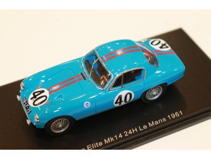 LOTUS ELITE LE MANS 1961 N°40 SPARK 1/43°