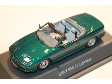 BMW 850 Ci CABRIOLET VERT SCHUCO 1/43°