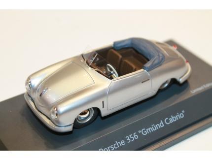 PORSCHE 356 GMÜND CABRIO 1952 SCHUCO 1/43°