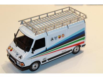 FIAT 242 TECHNIC ABARTH ASSISTANCE 1980 IXO 1/18°