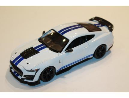 MUSTANG SHELBY GT500 2020 BLANC MAISTO 1/18°