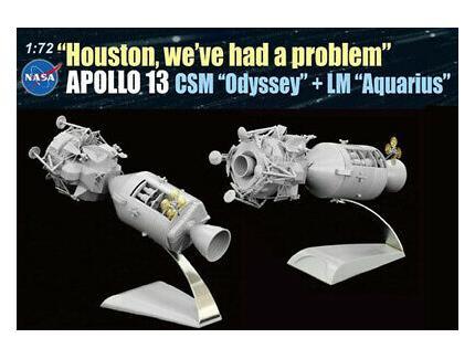 "APOLLO 13 ""HOUSTON WE 'VE HAD A PROBLEM"" DRAGON 1/72°"