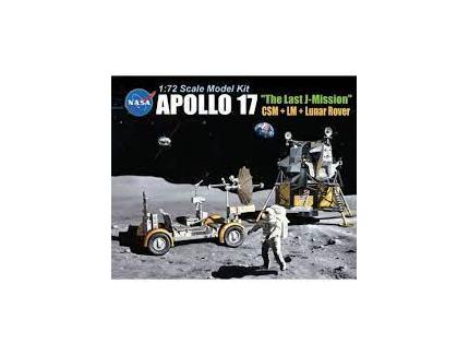 """APOLLO 17 """"THE LAST J-MISSION"""" DRAGON 1/72°"""