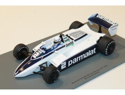 BRABHAM BT49D N°2 WINNER MONACO GP 1982 SPARK 1/18°