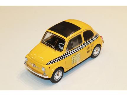 FIAT 500 L TAXI NEW YORK 1965 SOLIDO 1/18°
