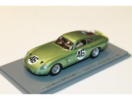 ASTON MARTIN N°46 DP214 WINNER COPPA INTER MONZA 1963 SPARK 1/43°