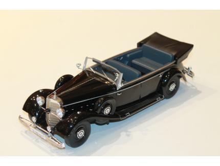 MERCEDES BENZ 770 NOIR (W150) MODEL CAR 1/18°