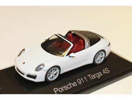 PORSCHE 911 TARGA 4S HERPA 1/43°