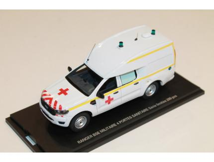 FORD RANGER BSE MILITAIRE SANITAIRE ALARME 1/43°