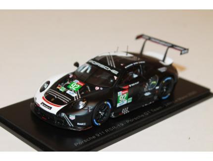 PORSCHE GT TEAM 911 RSR '19' N°92 24H LM 2020 SPARK 1/43°