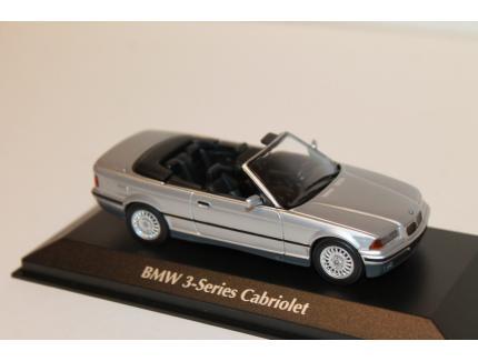 BMW SERIE 3 E36 CABRIOLET GRIS 1993 IXO 1/43°