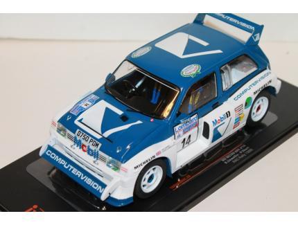 MG METRO 6R4 #14 RAC RALLY 1986 IXO 1/18°