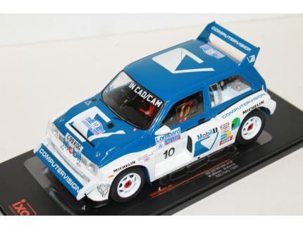 MG METRO 6R4 #10 RAC RALLY 1986 IXO 1/18°