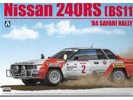 NISSAN 240RS SAFARI RALLY 1984 BEEMAX 1/24