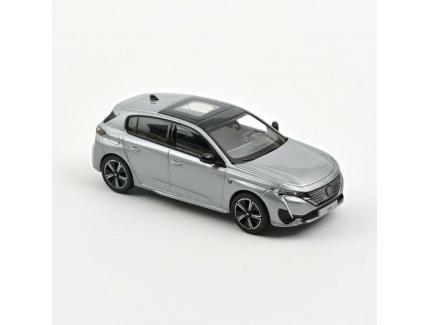 Peugeot 308 2021 Grise Norev 1/43°