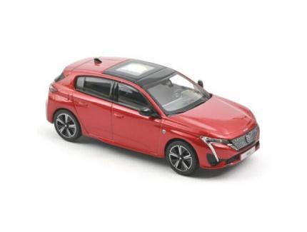 Peugeot 308 2021 Rouge Norev 1/43°