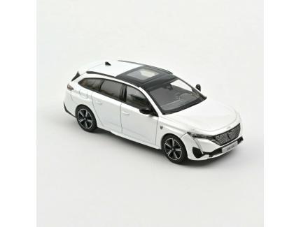 Peugeot 308SW 2021 Blanche Norev 1/43°